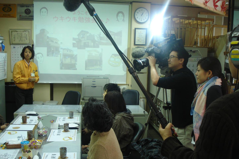 NHK総合テレビの「おはよう関西」Gハウスの取り組みが放送されました。