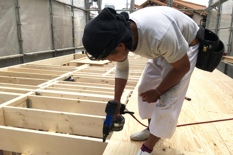 Gハウス 5つの安心 丁寧な施工を最優先に考える協力業者が造る安心の家