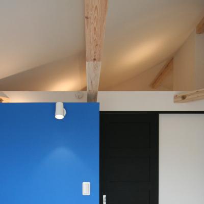 勾配天井 2階全室勾配天井